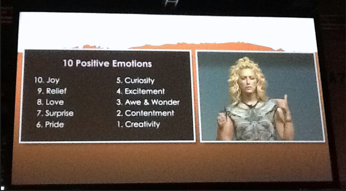 Jane McGonigal 10 positive emotions