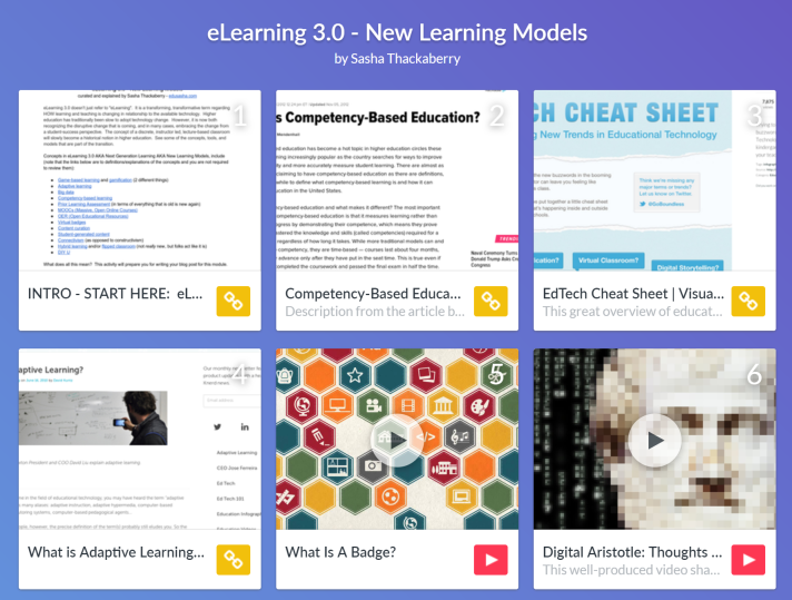 Link to Tes lesson on new learning models