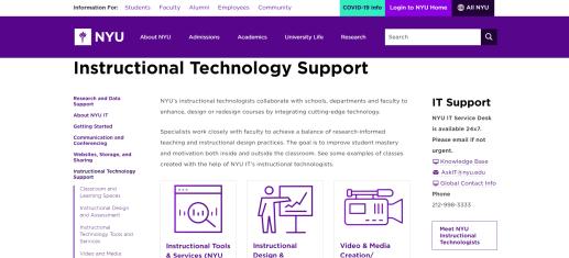 nyu-it-support-website
